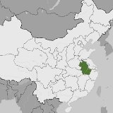 Map of Anhui, China