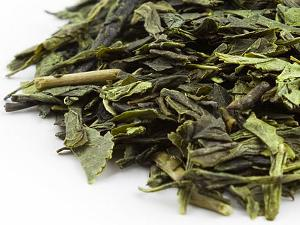 Loose-leaf green tea