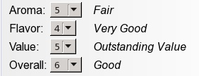 Screenshot of new rating descriptors