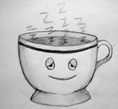 Sketch of a Sleepy Teacup