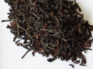 A loose-leaf English Breakfast black tea