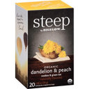 Picture of Steep by Bigelow Organic Dandelion & Peach Rooibos & Green