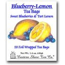 Picture of Eastern Shore Blueberry-Lemon Tea Bags