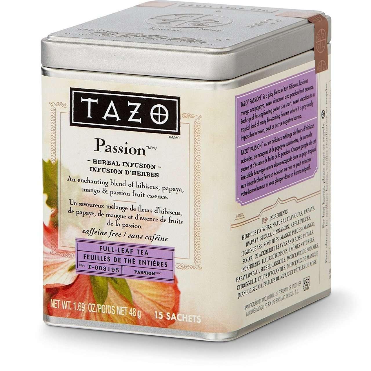 Passion Full Leaf - Tazo Tea - Ratings