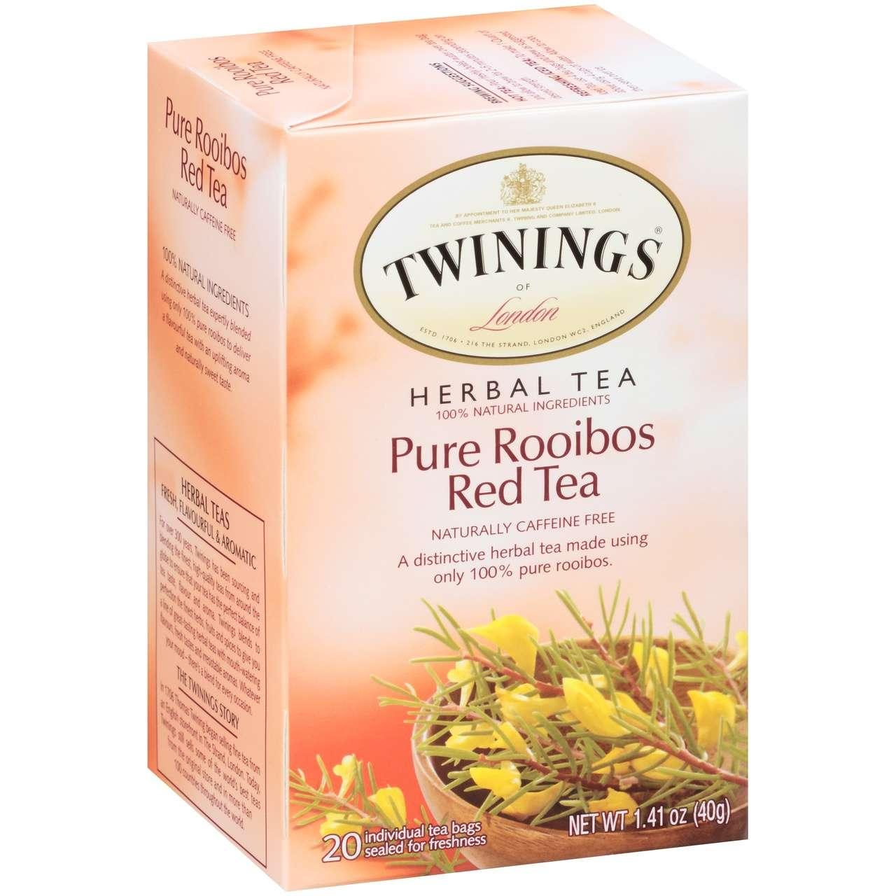 Pure Rooibos Red Tea African Rooibos Twinings