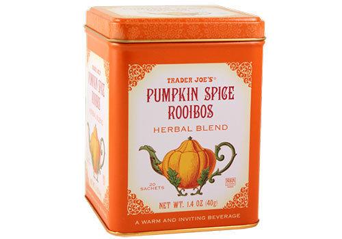 Image result for trader joe's pumpkin rooibos tea